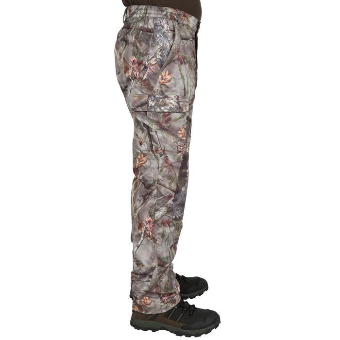 Pantalon chasse Posikam 100 camouflage marron - 41305