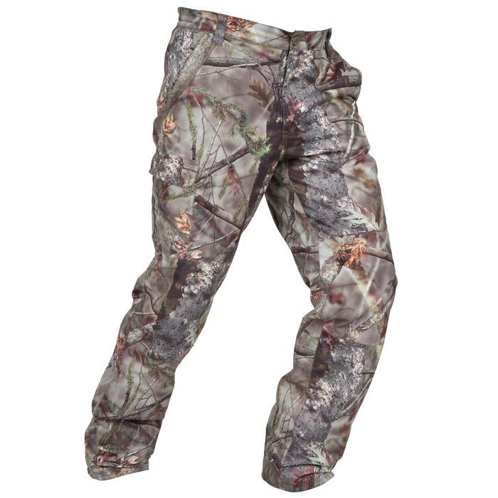 Pantalon chasse Posikam 100 camouflage marron - 41307