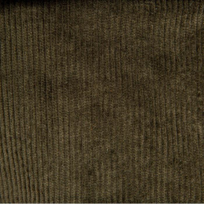 Pantalon chasse velours 300 vert - 41310