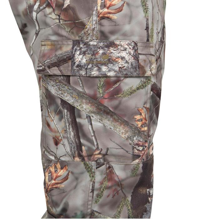 Pantalon chasse Posikam 100 camouflage marron - 41314