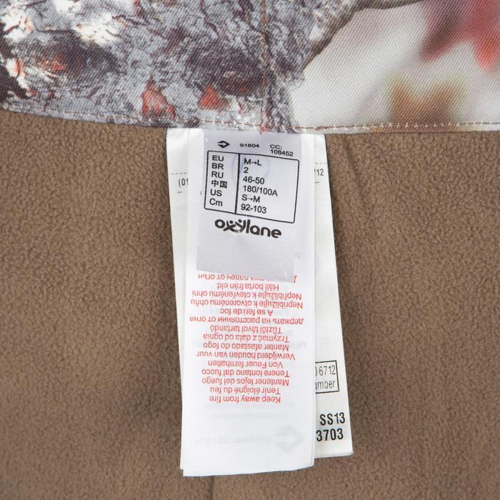 Pantalon chasse Posikam 100 camouflage marron - 41317