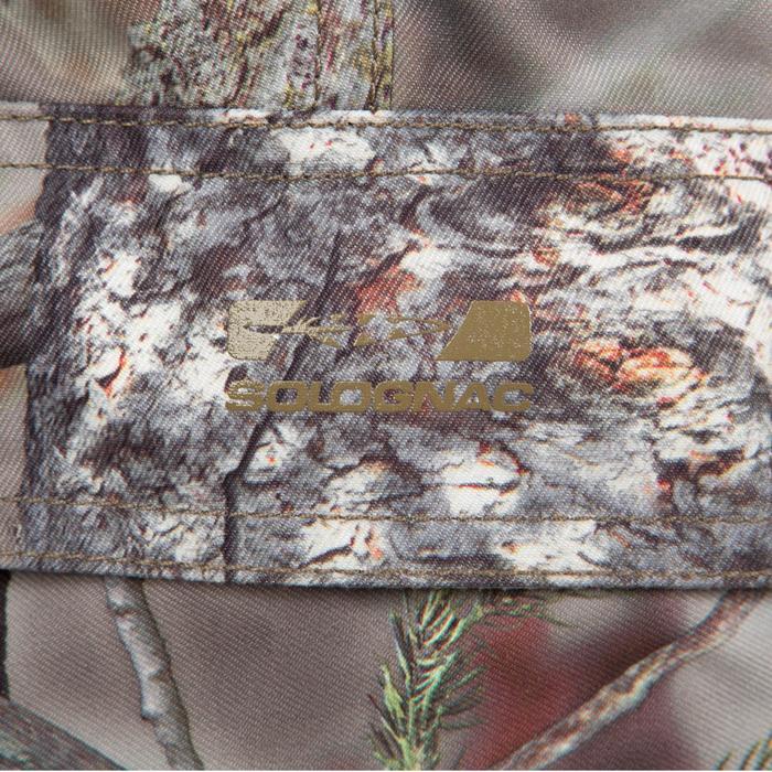 Pantalon chasse Posikam 100 camouflage marron - 41319