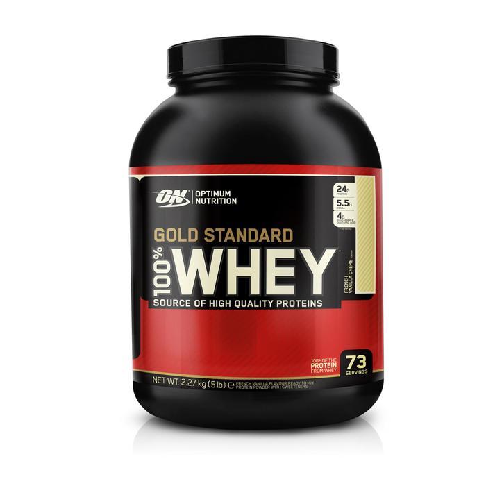 Proteine whey Gold Standard vanille 2,2kg