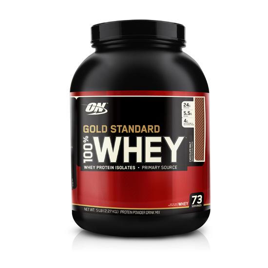 Eiwitten Optimum Nutrition Whey Gold Standard chocolade 2,2 kg - 413206