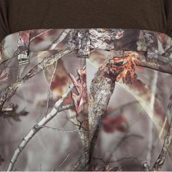 Pantalon Caza Solognac BGP 100 Camuflaje Impermeable Marrón