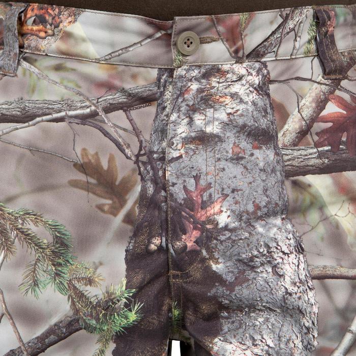 Pantalon chasse Posikam 100 camouflage marron - 41322
