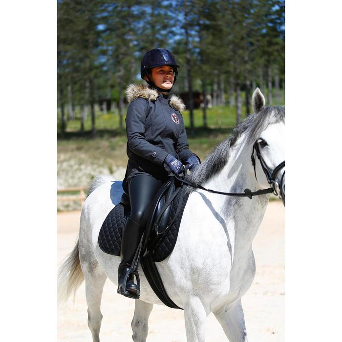 Casque équitation C700 noir