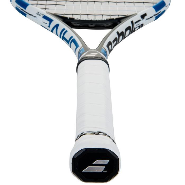 Tennisracket voor volwassenen Pure Drive Lite zwart wit blauw - 413627