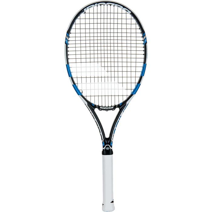 Tennisracket Pure Drive Lite zwart wit blauw - 413628