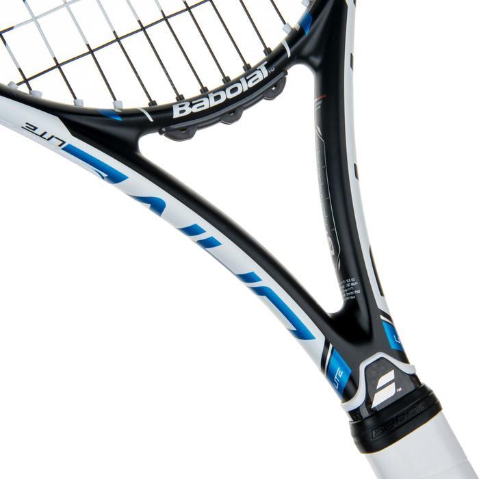 Tennisracket Pure Drive Lite zwart wit blauw - 413630