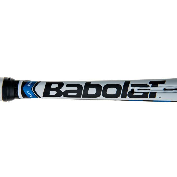 Tennisracket voor volwassenen Pure Drive Lite zwart wit blauw - 413633