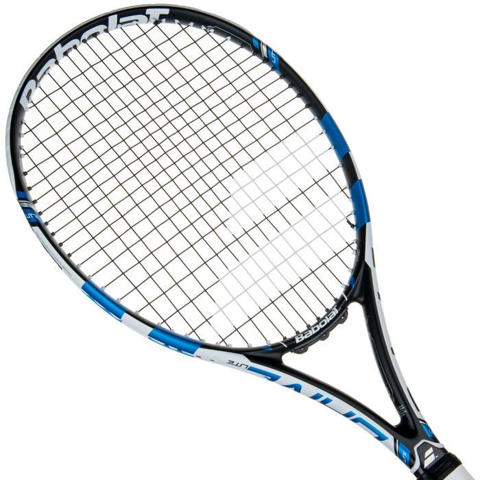 Tennisracket voor volwassenen Pure Drive Lite zwart wit blauw - 413637