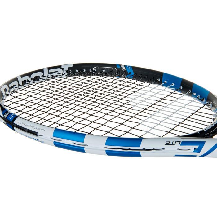 Tennisracket voor volwassenen Pure Drive Lite zwart wit blauw - 413640