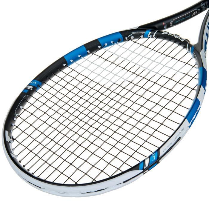 Tennisracket Pure Drive Lite zwart wit blauw - 413643