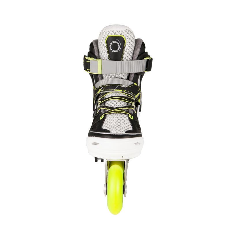 Fit 5 Jr Kids' Inline Fitness Skates - Yellow/White
