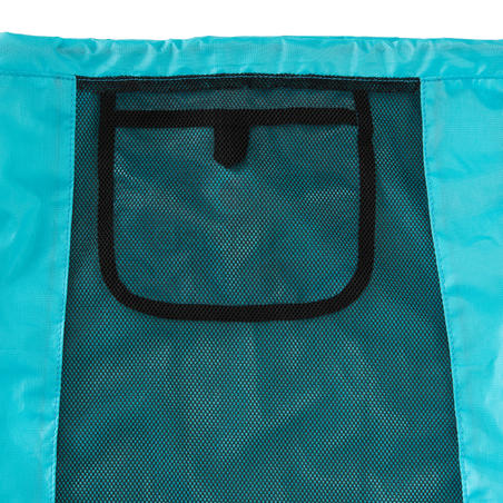 Fins, mask and snorkel bag - Atoll Blue