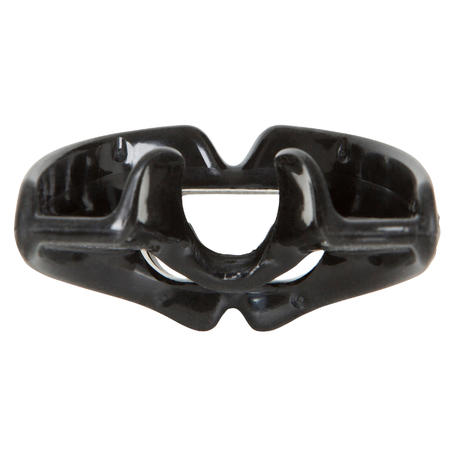 Men's SCD dive regulator silicone monodensity mouthpiece L black