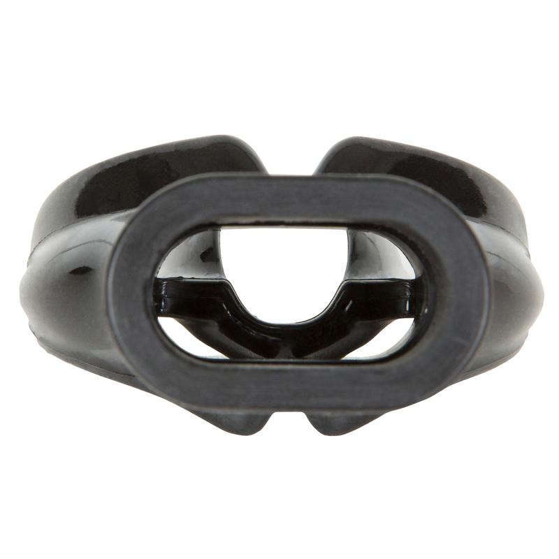 Men's SCD dive regulator silicone monodensity mouthpiece L black
