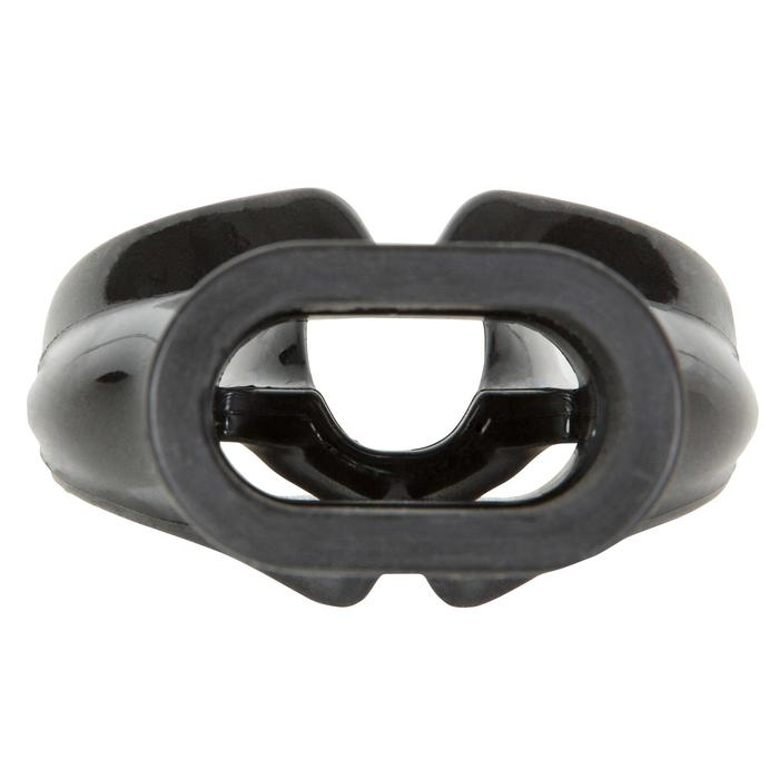 Boquilla de regulador de buceo SCD Hombre L monodensidad silicona negra