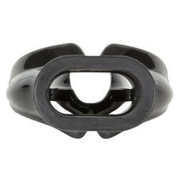 男款潛水調節器矽膠單密度咬嘴SCD L-黑色