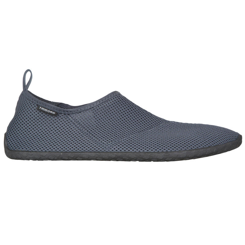 Chaussures aquatiques Aquashoes 100 grises foncées