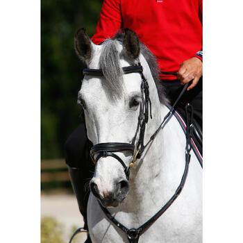 Filet + rênes équitation cheval et poney EDIMBURGH - 414985