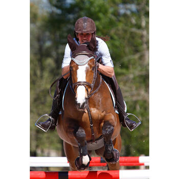 Filet + rênes équitation cheval et poney EDIMBURGH - 414989