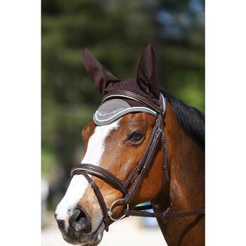 Hoofdstel + teugels ruitersport paard en pony Edimburgh bruin