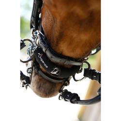 Protège-gourmette équitation cheval en néoprène noir
