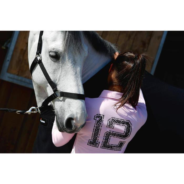 成馬及小馬訓練用馬籠頭-黑色