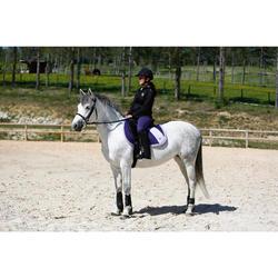 """Sattel Vielseitigkeitssattel Synthia Synthetik Pony/Pferd 16,5"""" schwarz"""