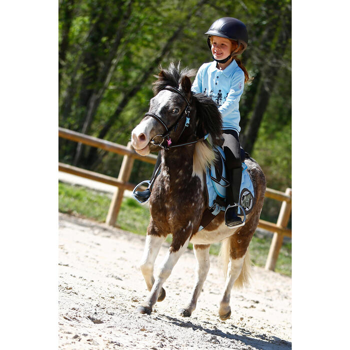 Filet + rênes équitation cheval et poney INITIATION - 415229