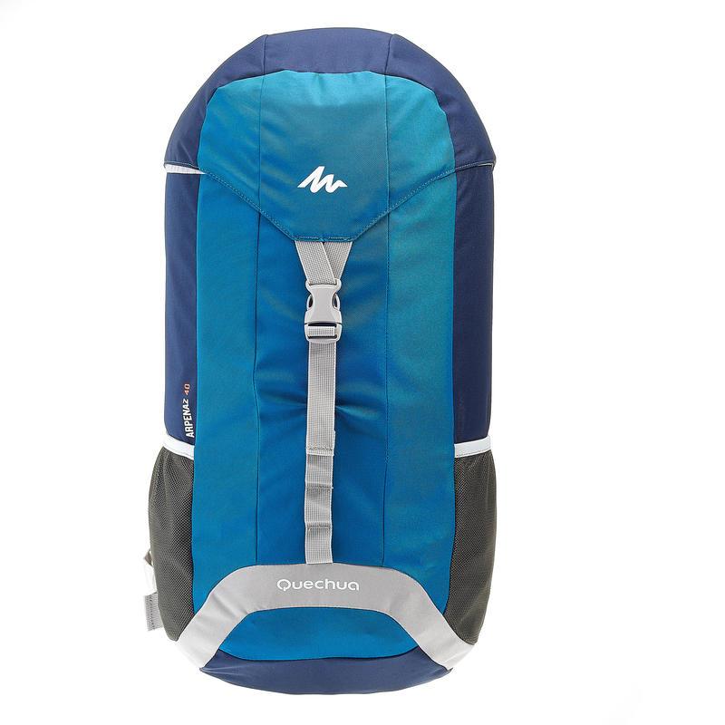 Mochila ARPENAZ 40 Litros, Azul/Gris