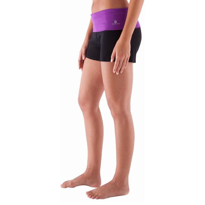 Short yoga doux femme coton issu de l'agriculture biologique - 415783