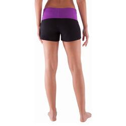 Yogashort in katoen uit biologische teelt, voor dames - 415784