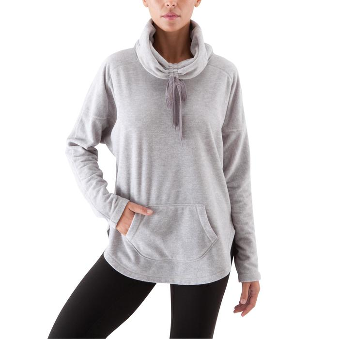Sweat polaire relaxation yoga femme - 415801