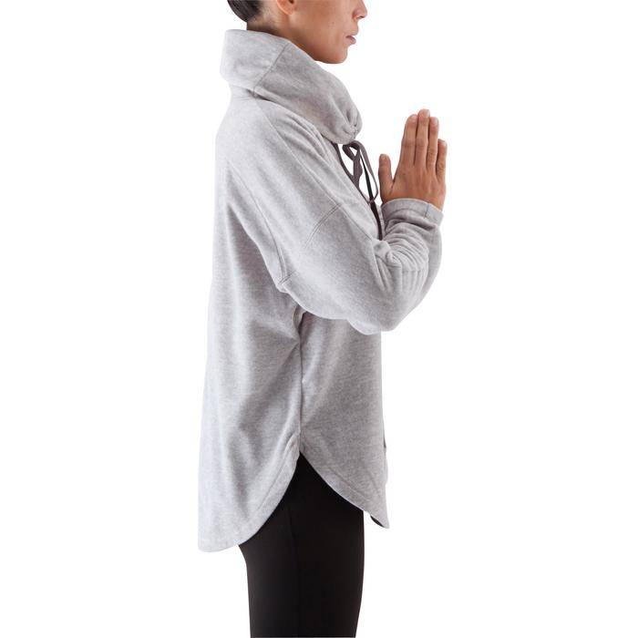 Sweat polaire relaxation yoga femme - 415804
