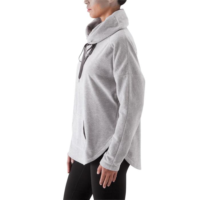Sweat polaire relaxation yoga femme - 415806