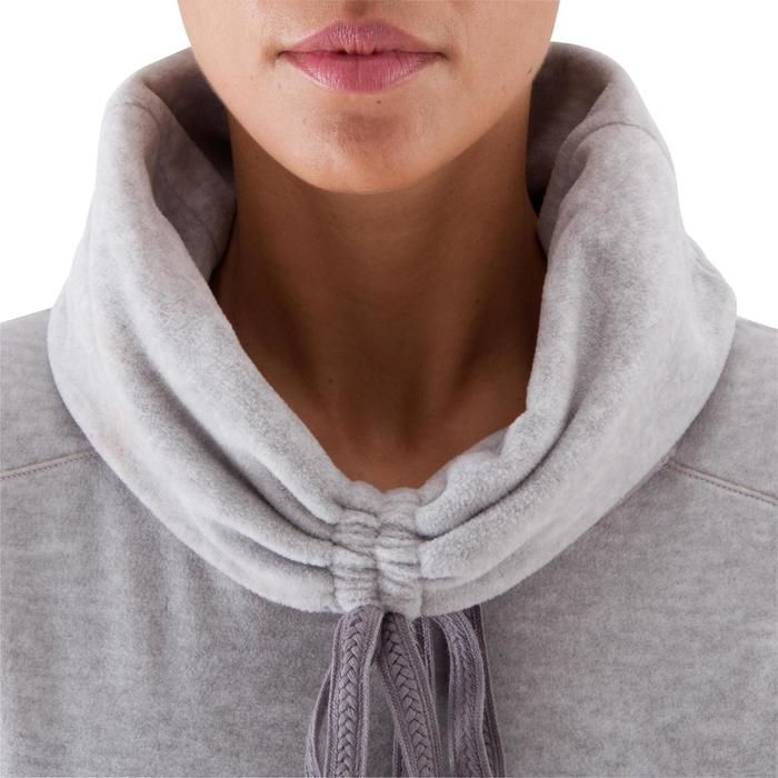 Sweat polaire relaxation yoga femme - 415813