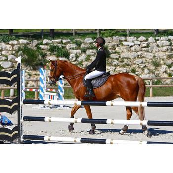 Filet + rênes équitation cheval et poney TINCKLE marron - 416139