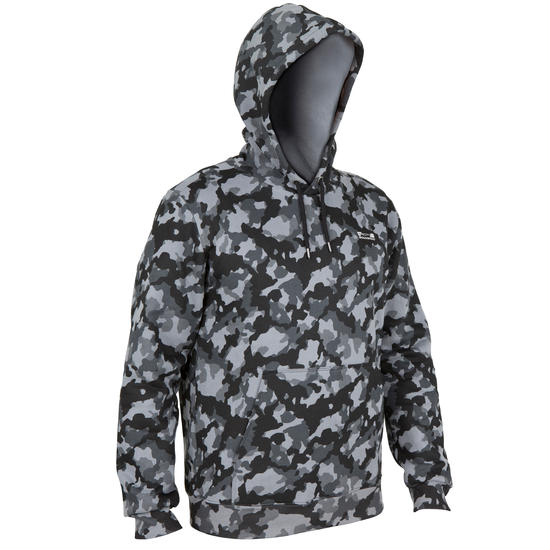 Sweater Taïga 300 camouflage Halftone - 41614