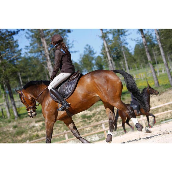 Filet + rênes équitation cheval et poney TINCKLE marron - 416141
