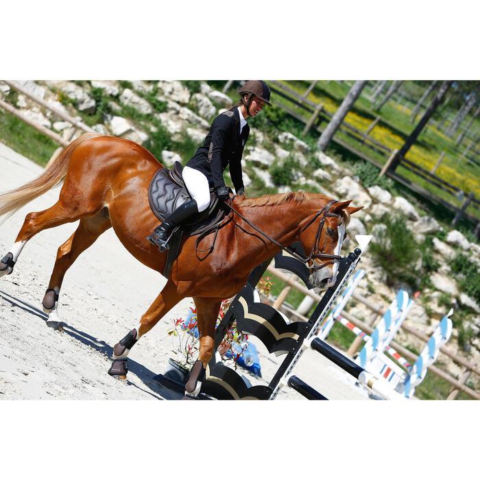Filet + rênes équitation cheval et poney TINCKLE marron - 416142