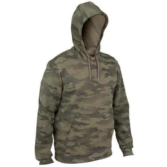 Sweater Taïga 300 camouflage Halftone - 41620