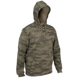 Hoodie 300 voor de jacht camouflage halftone