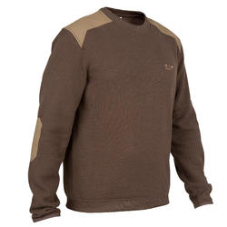 Pull chasse 500 marron
