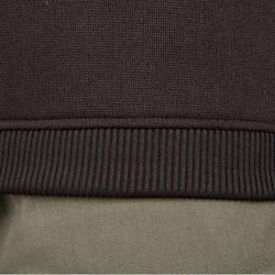 Suéter de caza 300 negro