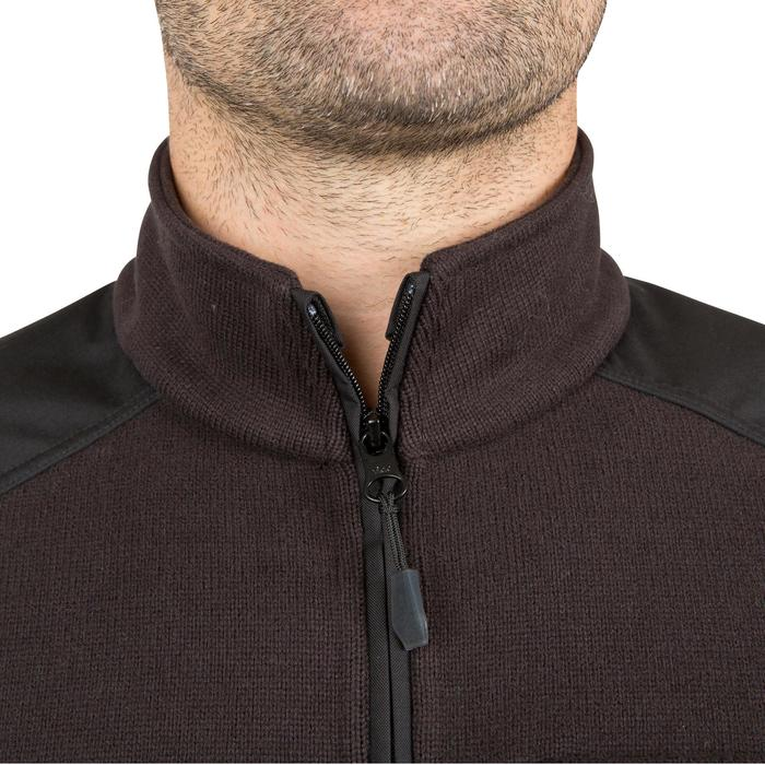 Pull chasse 300 col montant noir