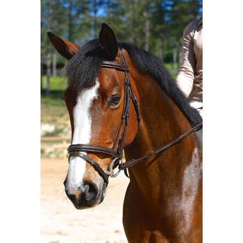 Filet + rênes équitation RECALL - poney et cheval - 416991