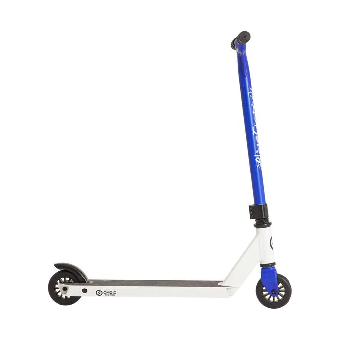 Stunt-Scooter Roller MF One weiß/blau